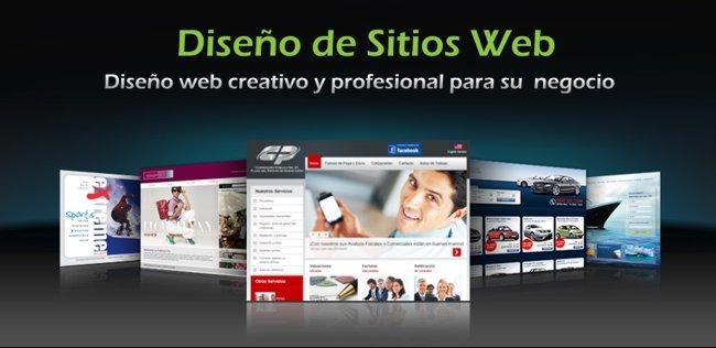 Diseño de sitios web - Diseño Web Creativo Profesional para su Negocio