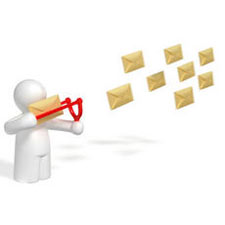 sistema de marketing por email, emails masivos