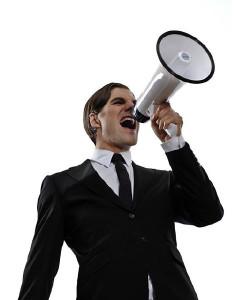 megafono empresarial